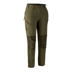 deerhunter lady anti-insect trousers in green from ladies in the field